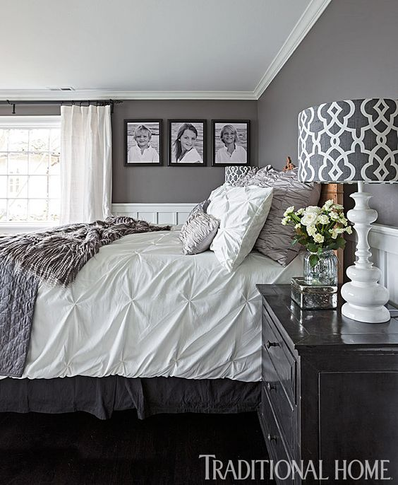 GRAY BEDROOM DESIGN 14