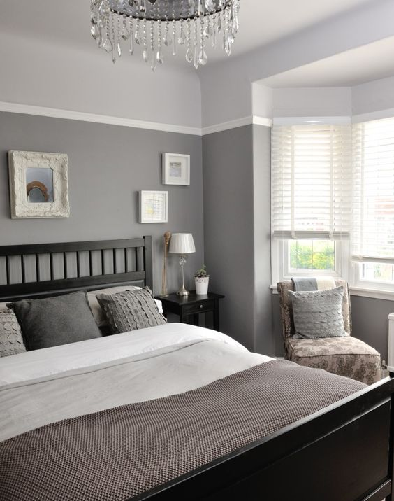 40 Gray Bedroom Ideas | Decoholic