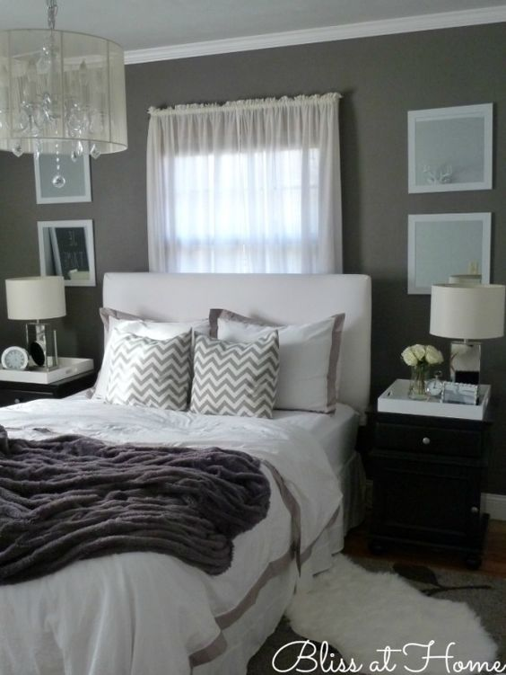 40 gray bedroom ideas decoholic for Bedroom ideas grey