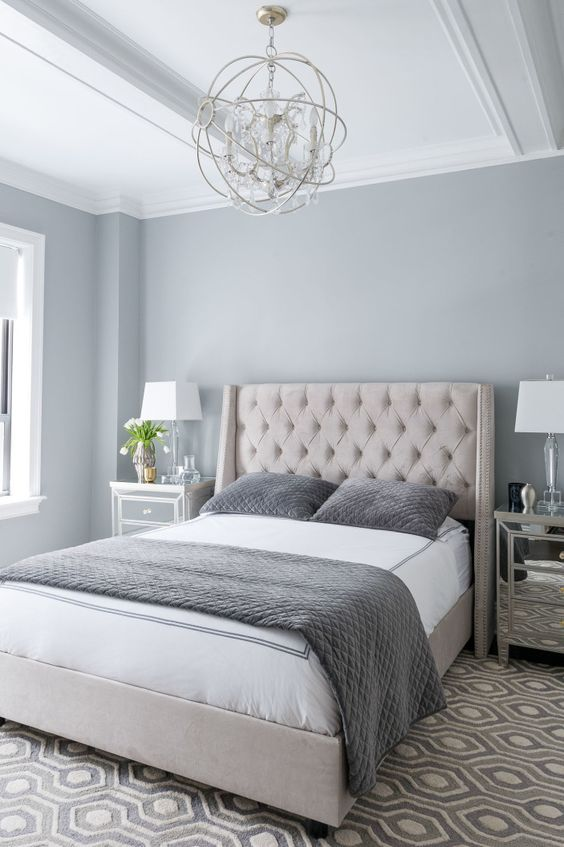 Beautiful Gray Bedroom 7
