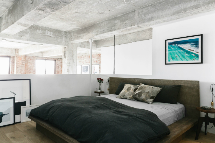 Transitioning a Sprawling Industrial Loft to a Cozy Home 14