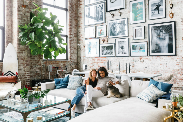 transitioning a sprawling industrial loft to a cozy home 3. beautiful ideas. Home Design Ideas
