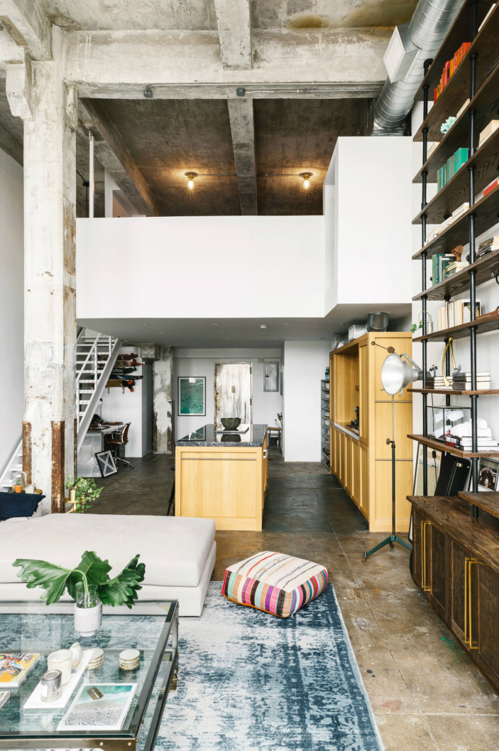Transitioning A Sprawling Industrial Loft To A Cozy Home
