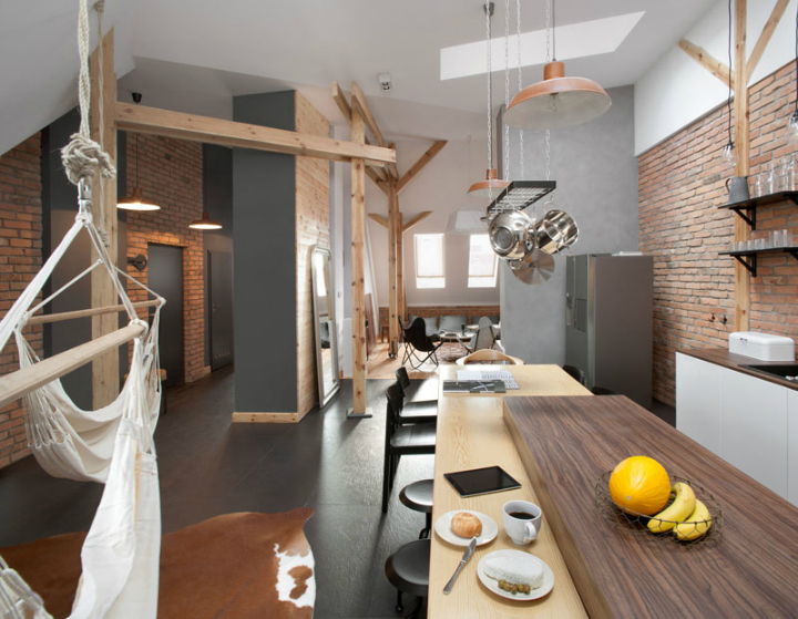 Amazing Loft Apartment Inside a 19th-Century Building 2