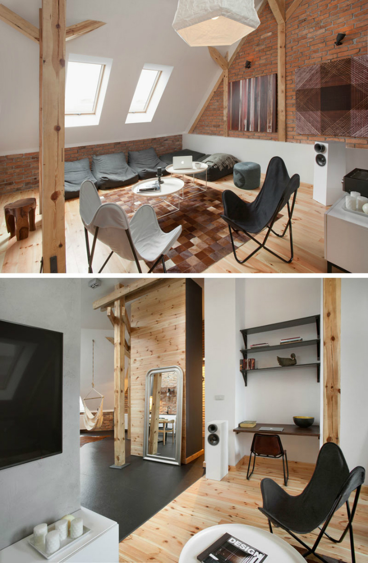 Amazing Loft Apartment Inside a 19th-Century Building 3