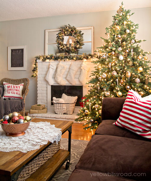 How Interior Design Bloggers Decorated Their Homes for Christmas 2
