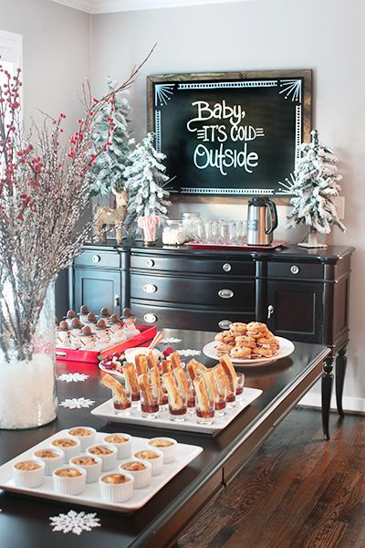 Christmas party decoration idea 1