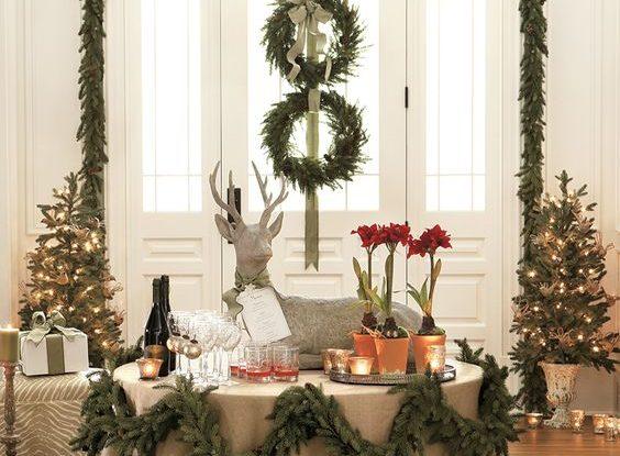 Christmas party decoration idea