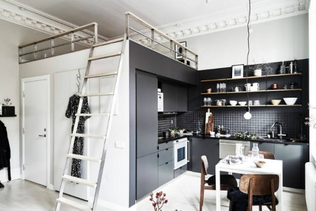 Gothenburg's Small Stylish and Smart Home