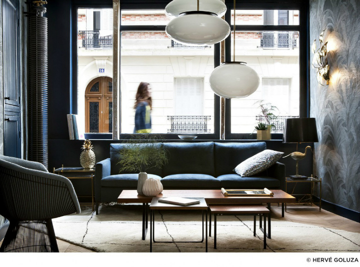 Truly unique boutique design hotel in paris decoholic for Unique small hotels