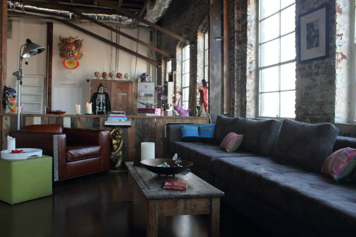 Awesome LA Loft Interior Design 12