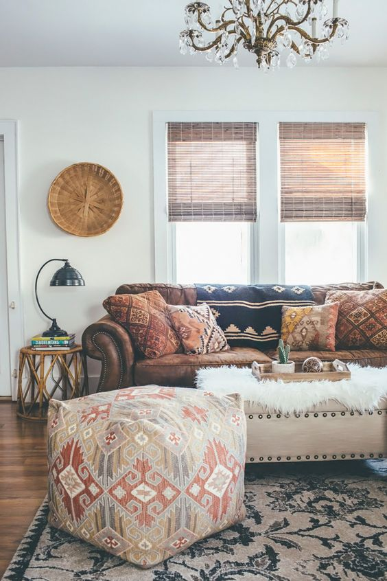 How To Add Ethnic Chic Style Your Living Room 5