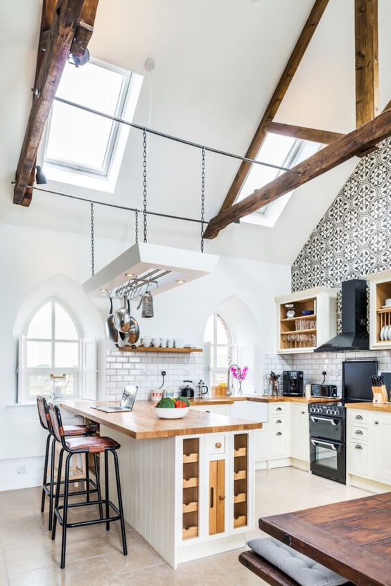 loft kitchen design idea 12