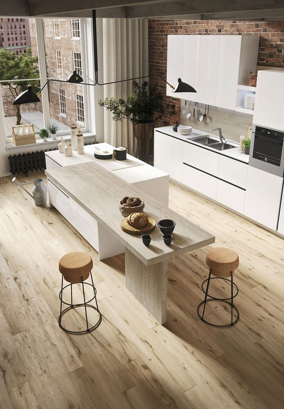 loft kitchen design idea 17
