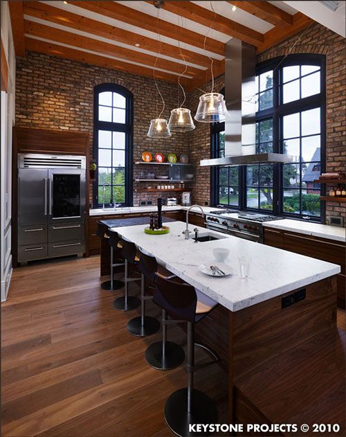 loft kitchen design idea 19