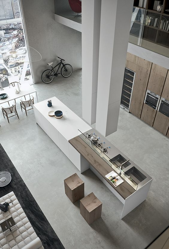 loft kitchen design 20