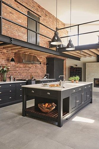 Loft Kitchen Ideas Prepossessing 20 Dream Loft Kitchen Design Ideas  Decoholic