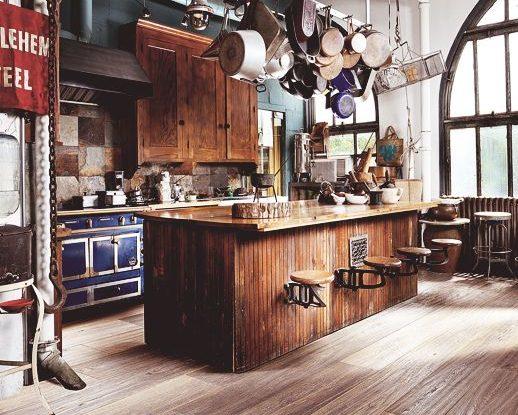 loft kitchen design idea
