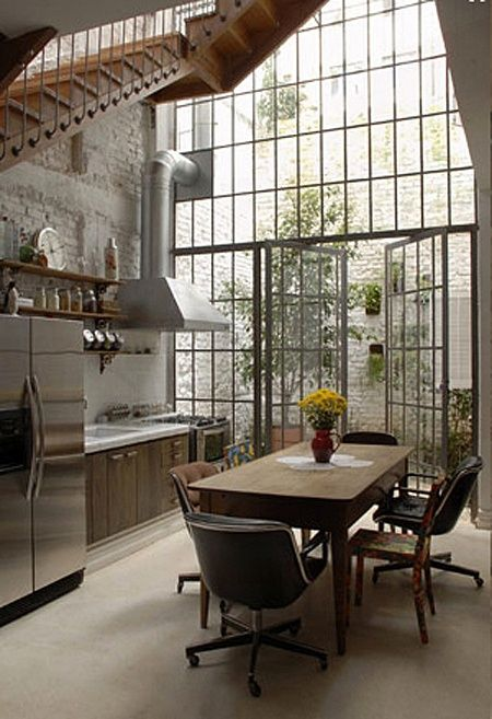 Attrayant Loft Kitchen Design Idea 6