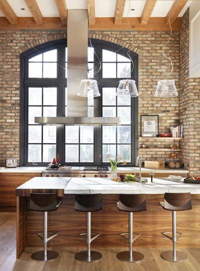Loft Kitchen Design Idea 7