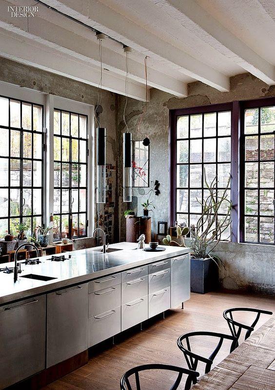 20 Dream Loft Kitchen Design Ideas - Decoholic