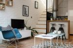 344 sq feet Three-Level Post - Industrial Loft 11