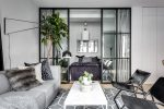 Elegant Ostermalm small apartment interior 2