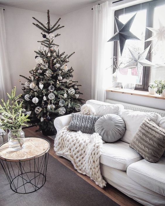 Holiday Highlights on a White Backdrop home decor 10