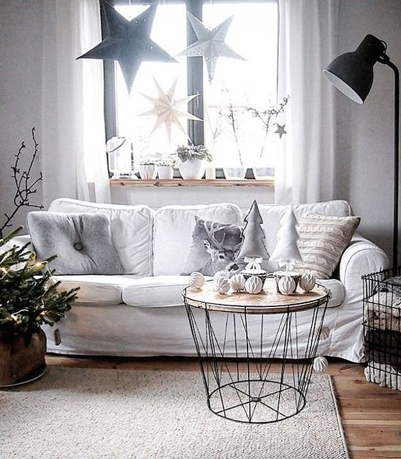 Holiday Highlights on a White Backdrop home decor 4