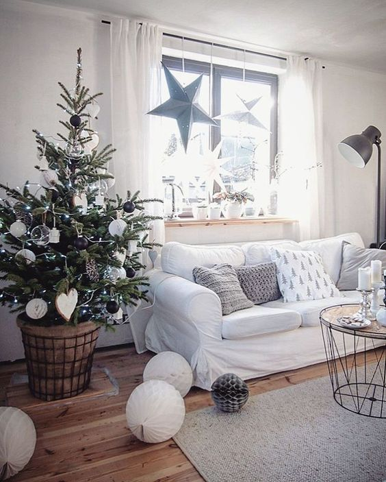 Holiday Highlights on a White Backdrop home decor 5