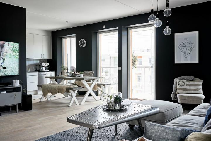 Interiors Of a Swedish Sanctum