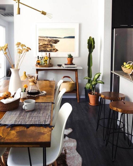 30 Ways To Create A Trendy Industrial Dining Room: 10 Ways To Work The Cactus Trend