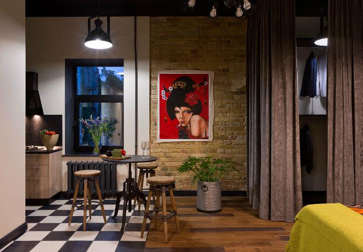 Fresh And Boho Loft Apartment 13