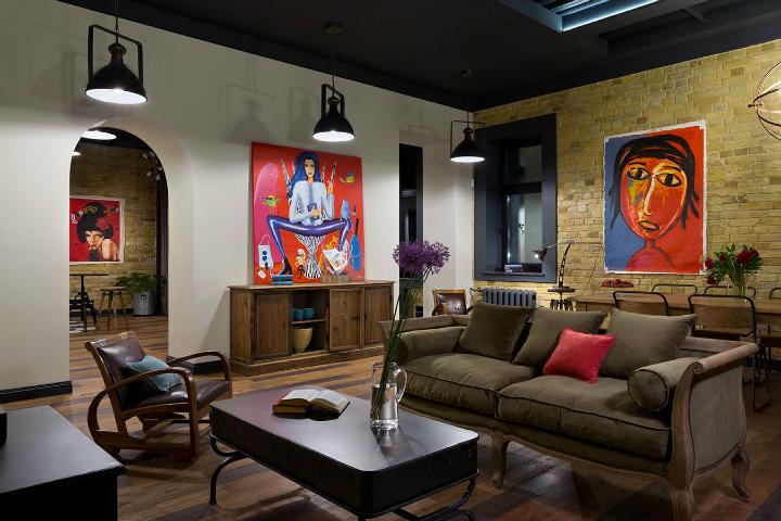 Fresh And Boho Loft Apartment 16