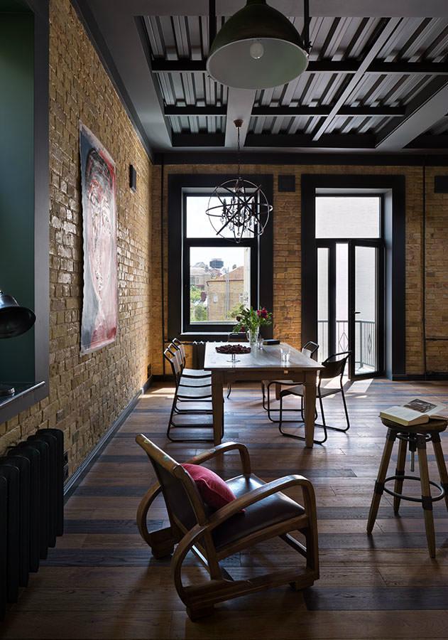 Fresh And Boho Loft Apartment - Decoholic