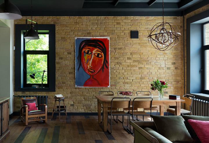 Fresh And Boho Loft Apartment Decoholic