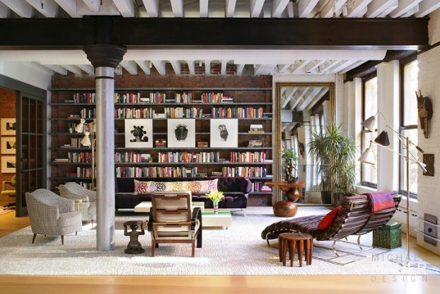 Cool And Inviting New York City Loft