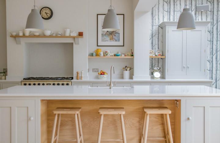 Scandinavian Woodland Inspired Kitchen