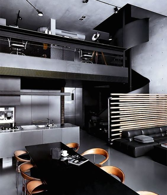 bachelor pad masculine interior design