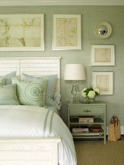 Delicieux Green Bedroom Design Idea 12