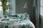 green bedroom design idea