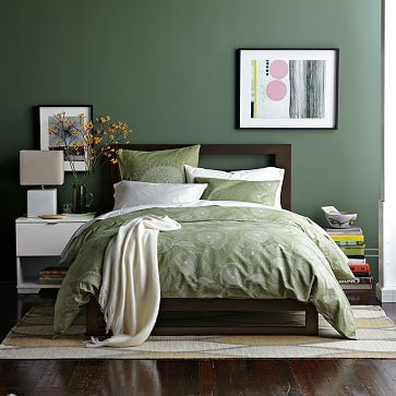 Beau Green Bedroom Design Idea 24