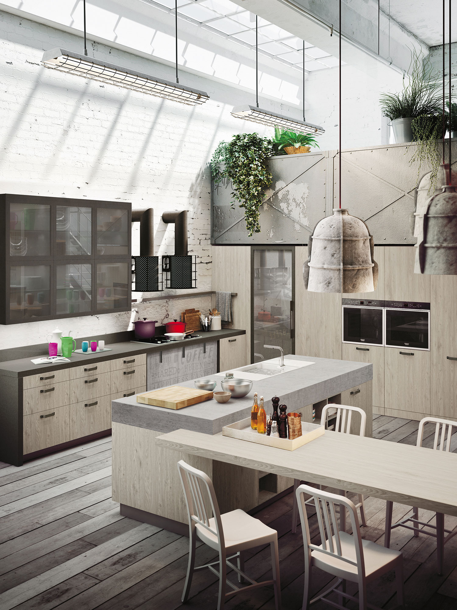 kitchen design for lofts expression of the trends loft kitchen 649