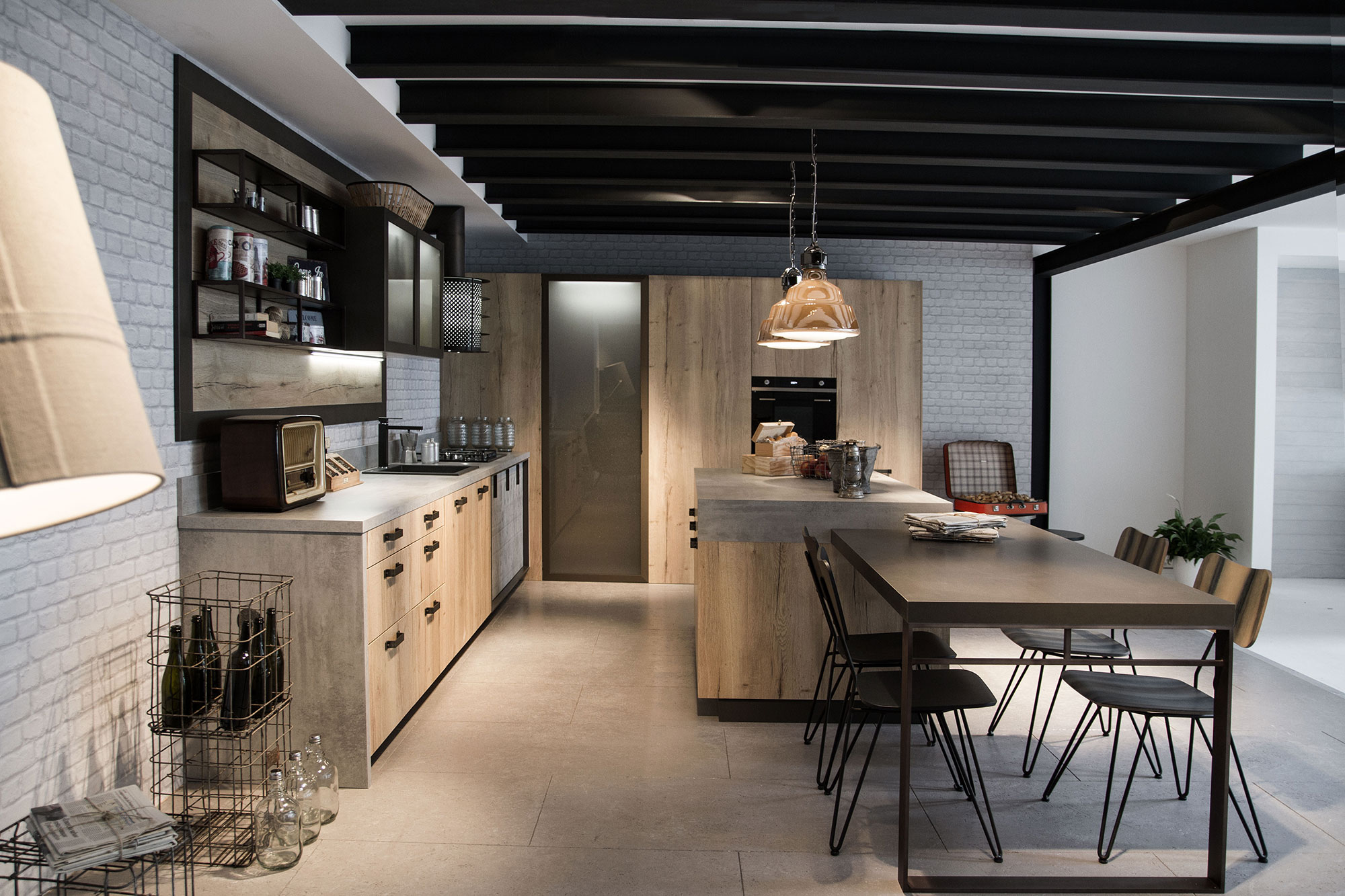 Snaidero Loft Kitchen 25