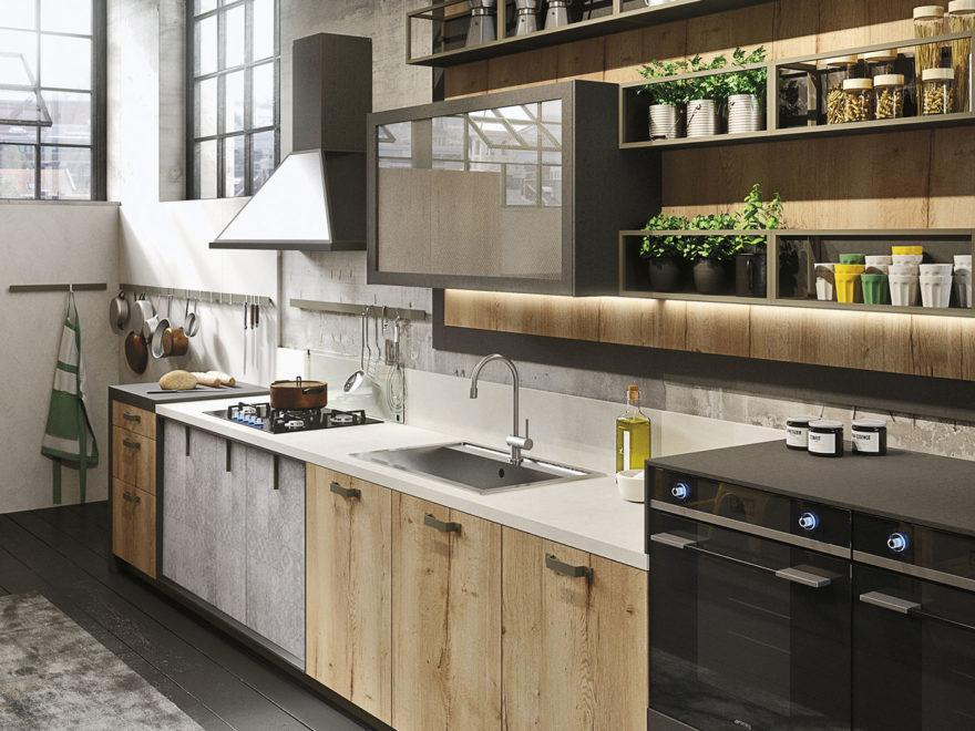 Snaidero Loft Kitchen