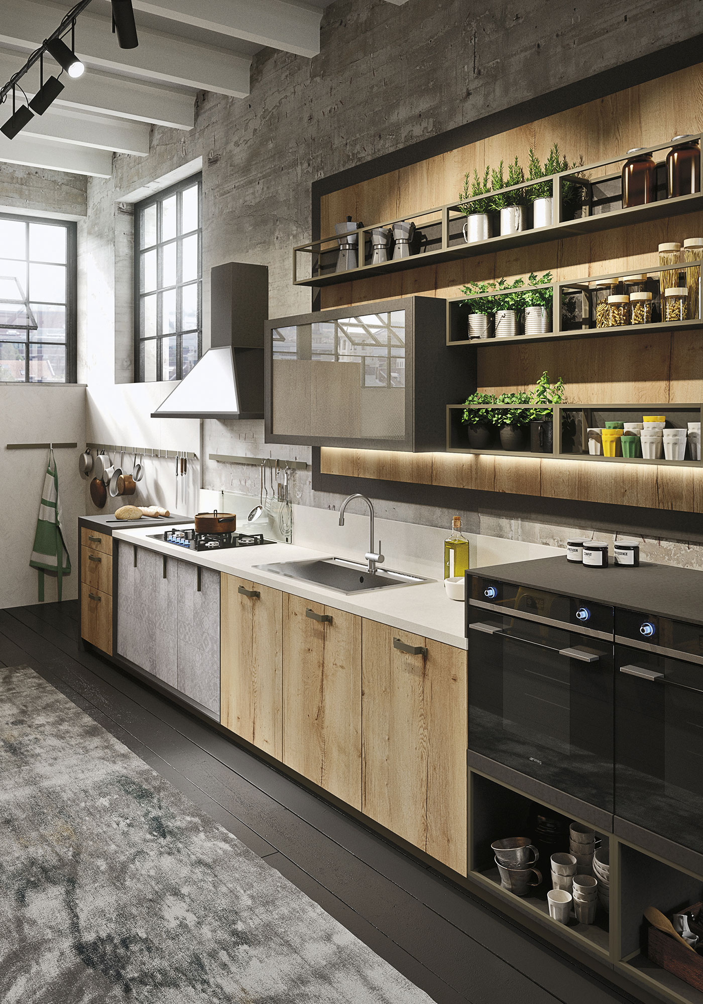 Snaidero Loft Kitchen