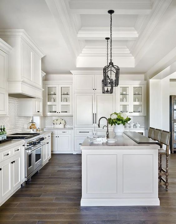 white kitchen design 13
