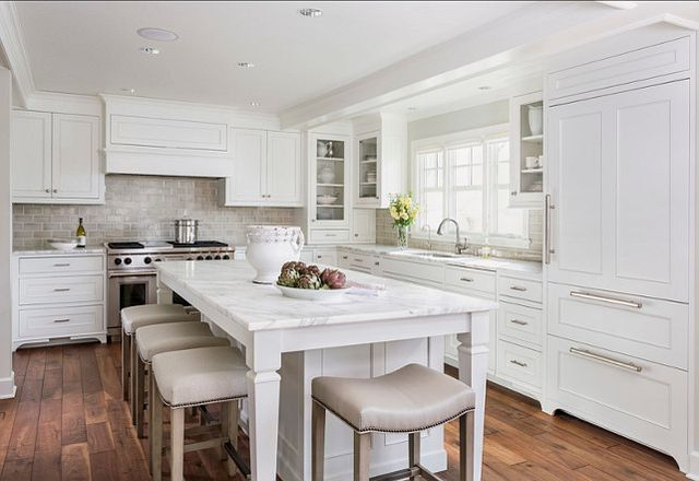 Beau White Kitchen Design 2