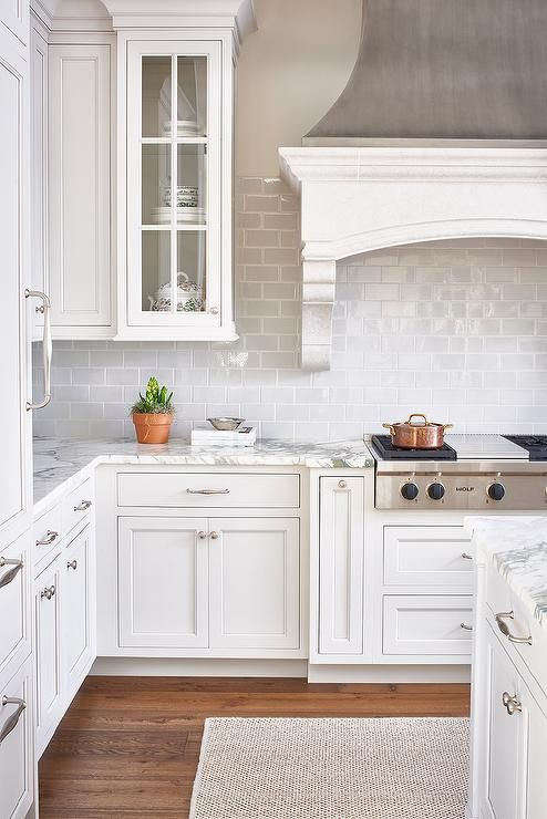 White Kitchen airy all white kitchen White Kitchen Design 4