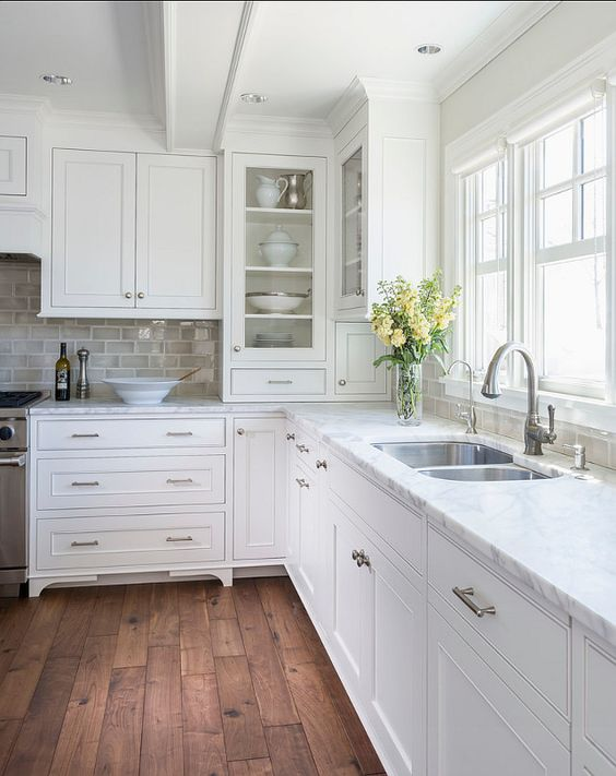 Kitchen Styles: 53 Best White Kitchen Designs